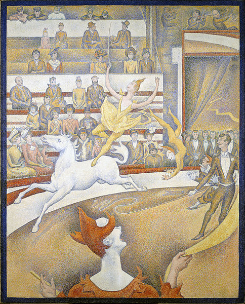 georges seurat the circus - photo #8