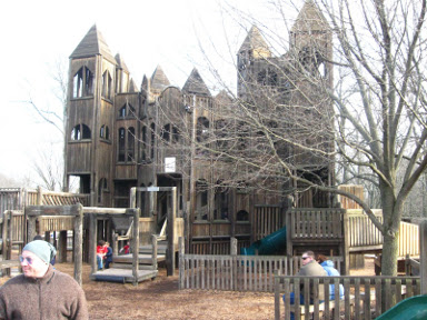 Our Visit To Doylestown Castle Playground Pennsylvania Daytrip Destinations