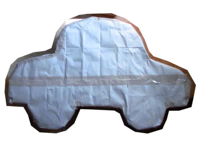 How To Make A Car Shaped Pinata