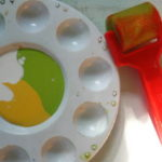 Acrylic Sponge Painting For Kids