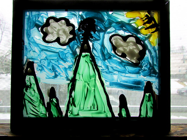 Tiffany Stained Glass Art Lesson