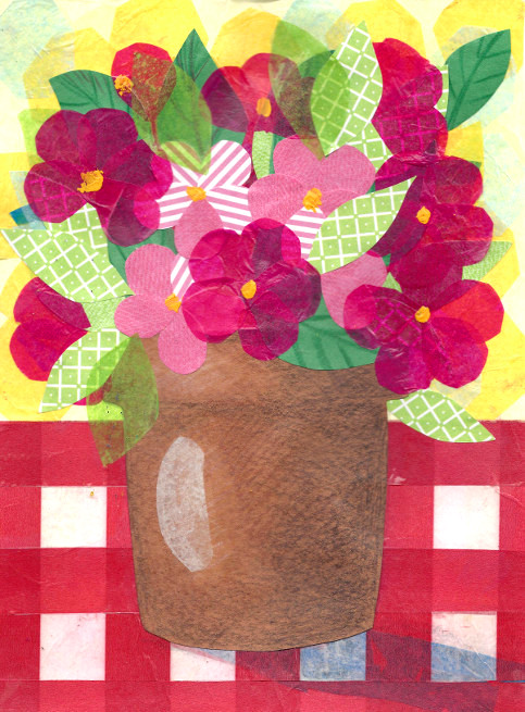 tissue paper collage artists This tissue paper square collage art project came about when i was thinking of fun and unexpected ways to use tissue paper it was a favorite craft for my kids and i hope it will be for you as well for more tissue paper ideas check out our coffee filter flowers made with tissue paper and paper plate ladybug craft.