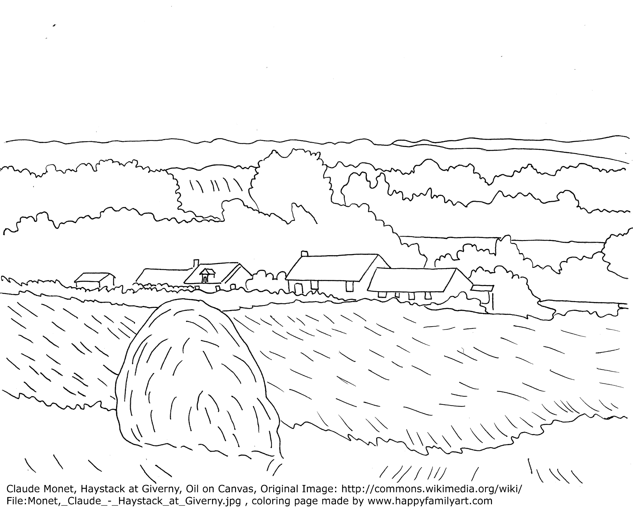 okeefe coloring pages - photo #45
