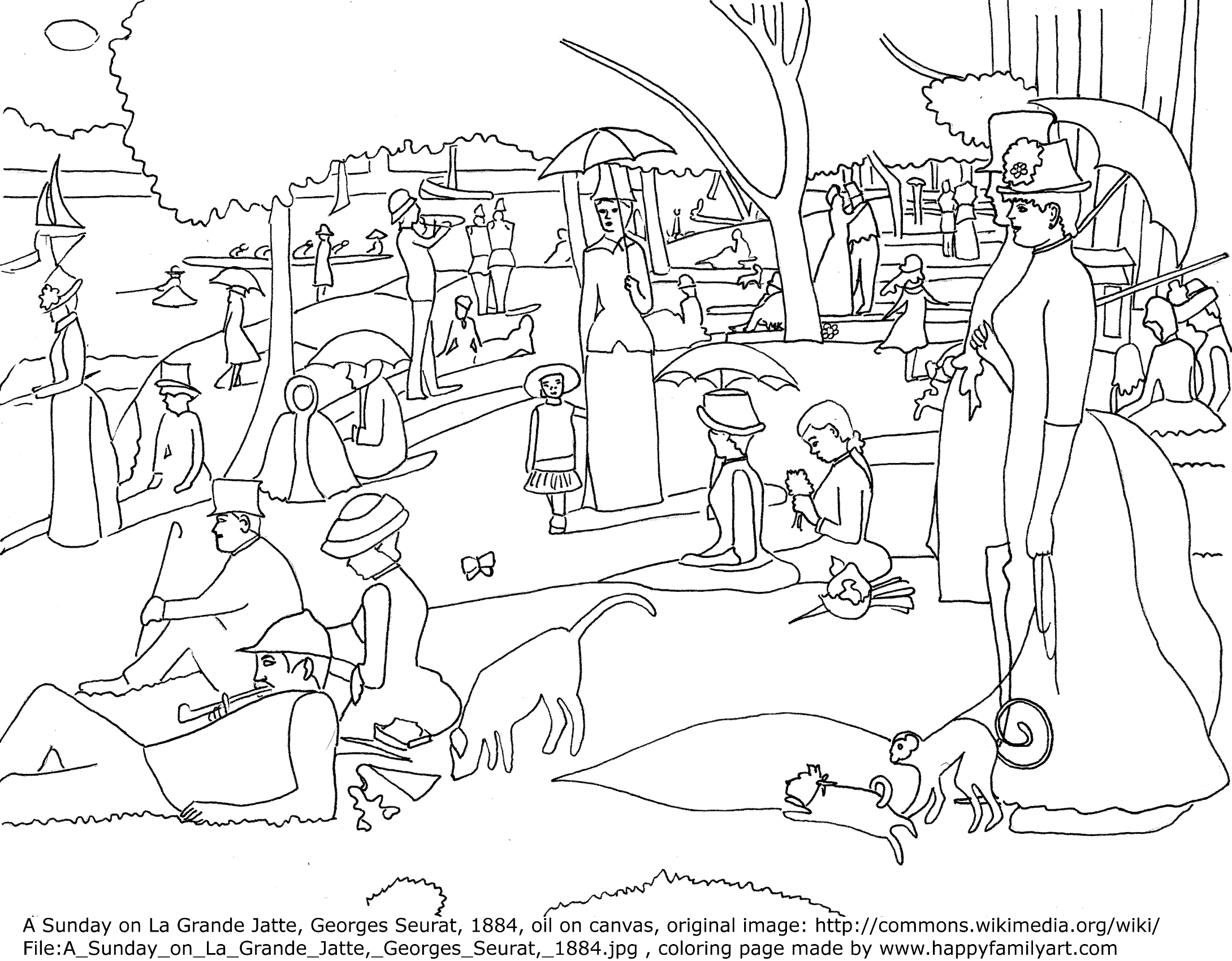 art coloring pages for kids - photo#47