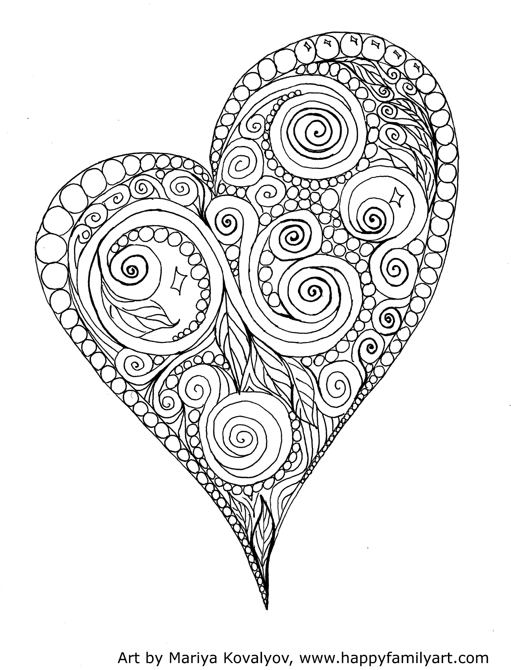 Advanced Valentine Coloring Pages : Van gogh starry night famous paintings coloring pages