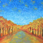 Vincent Van Gogh Art Lesson Landscape Art Lessons