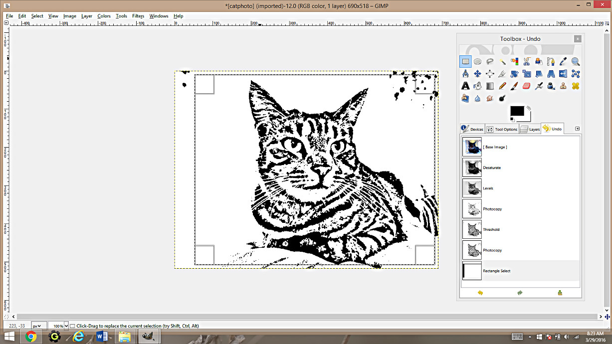 Pages rgb color - Making Coloring Pages From Photographs Using Gimp