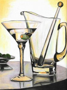 Art by Mariya Kovalyov Quick and Easy Way To Draw Glass