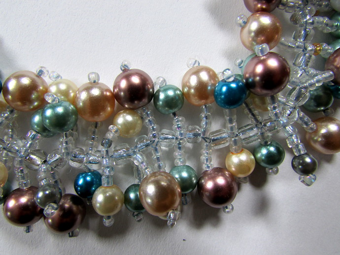Colorful Pearl Bracelet DIY Tutorial