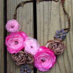 Silk Flower Necklace Tutorials Handmade Necklaces