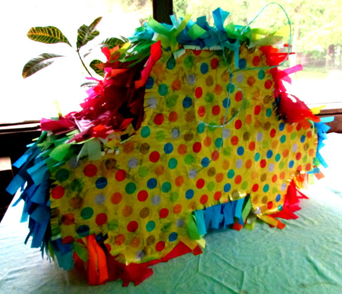 How To Make A Car Shaped Pinata