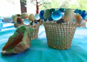 Fun Seashell Candleholders Tutorial