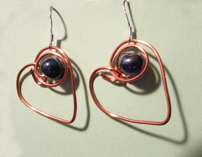 Simple Beaded Earrings Tutorial