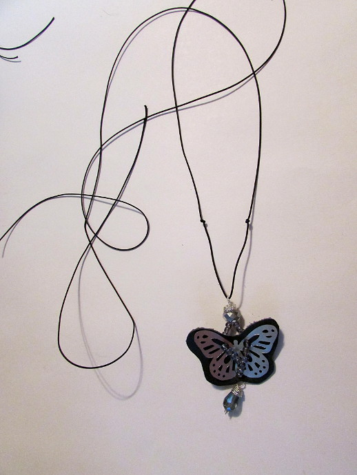 Recycled Aluminum Can Butterfly Jewelry