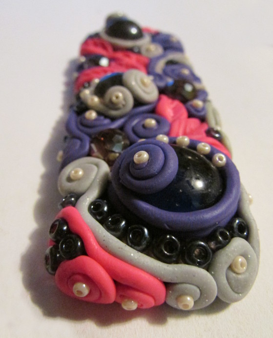 Polymer Clay Hair Clips Tutorial