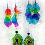 Recycled Plastic Bottle Earrings Instructions