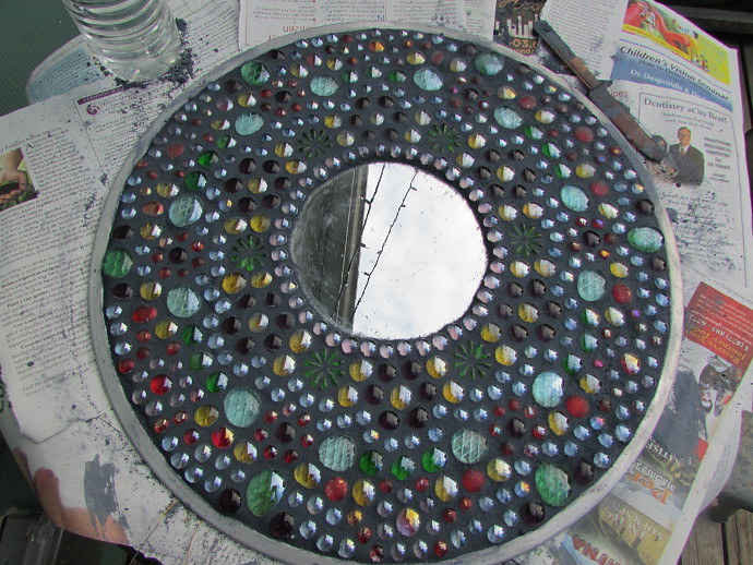 How To Make Outdoor Mosaic Art