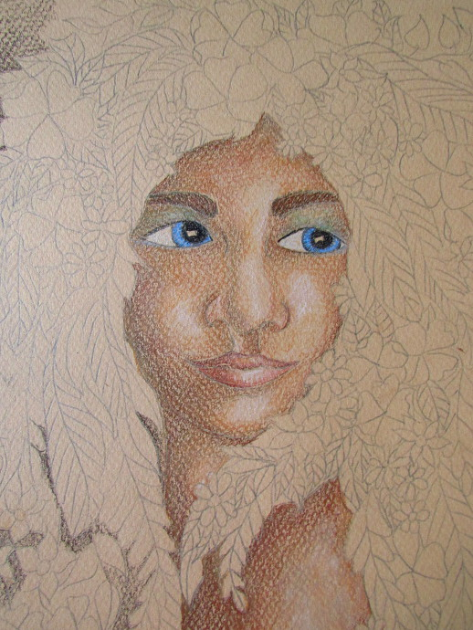 How To Color In A Face -