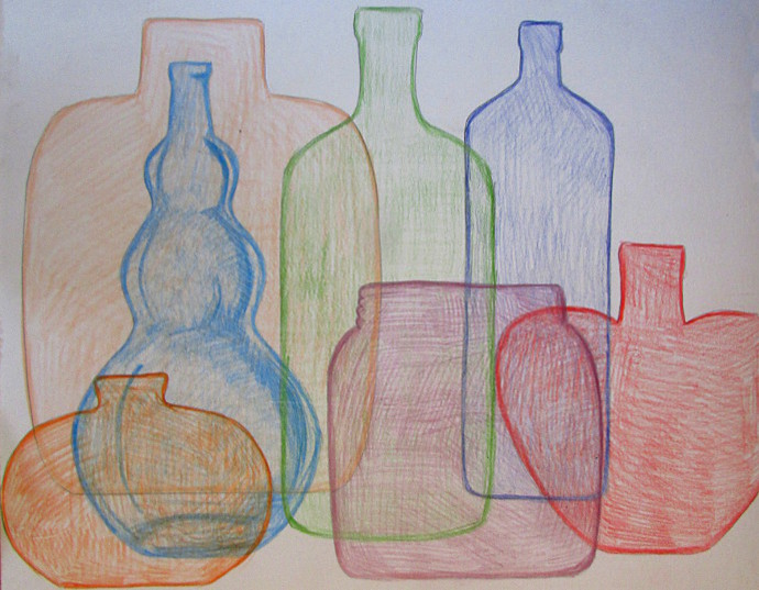 Quick and Easy Way To Draw Glass