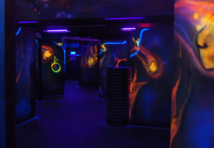 Our Visit To Bonkerz Laser Tag