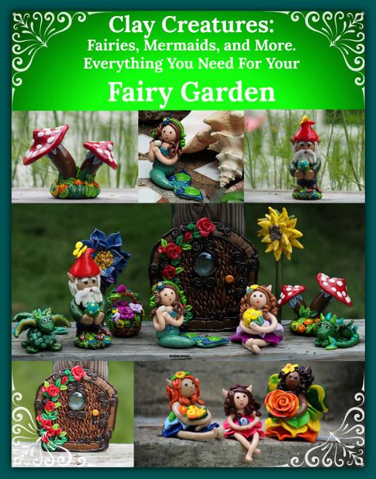 Clay Fairy Garden Creations