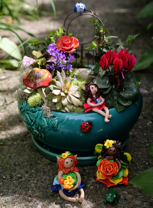 Clay Fairy Garden Creations Hy
