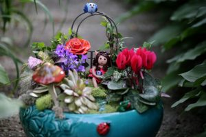 Clay Fairy Garden Creations
