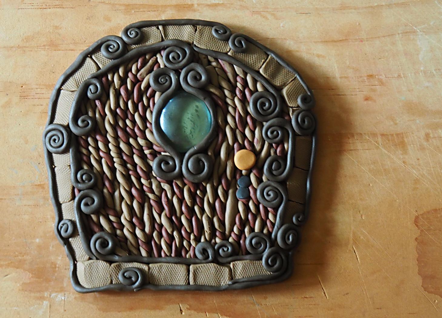 Clay Fairy Garden Creations Fairy House Gate