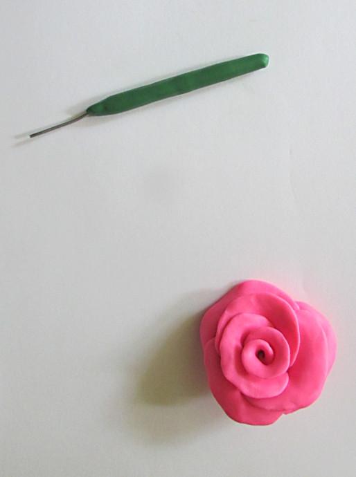 Clay Fairy Garden Creations Flowers