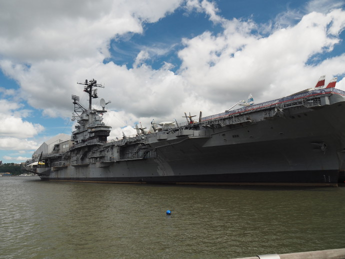 Our Visit To The Intrepid Museum