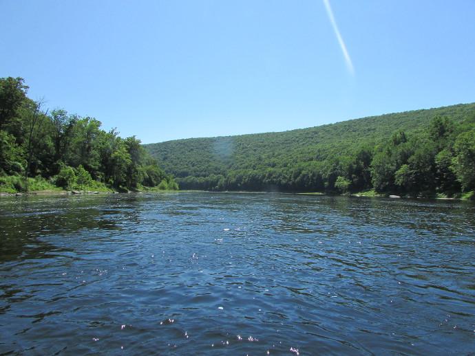 Rafting on Delaware