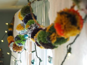 How To Make a Pompom Garland How to make a pompom