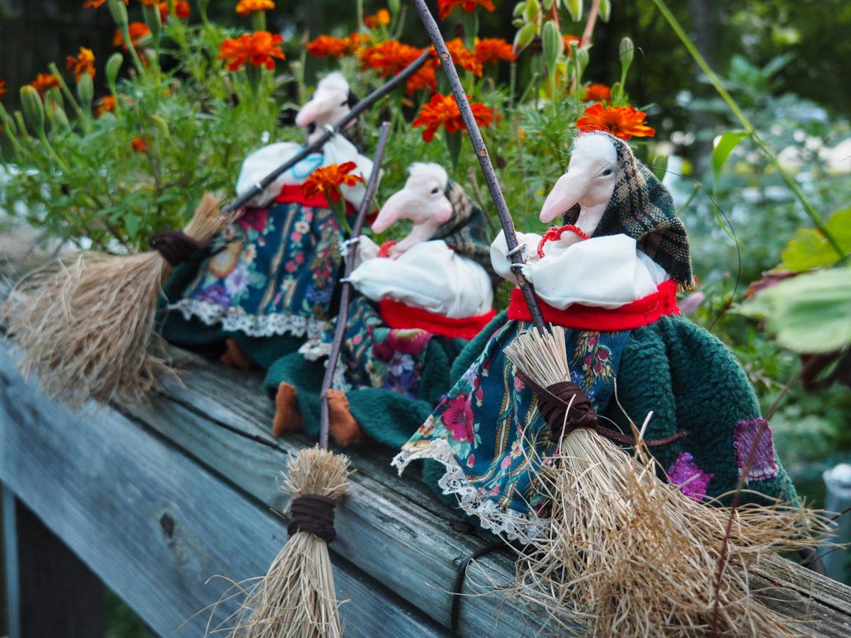 Crafty Kitchen Witch Craft Dollmaking